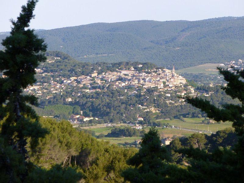 Vue depuis la location Location Villa 119782 Bandol