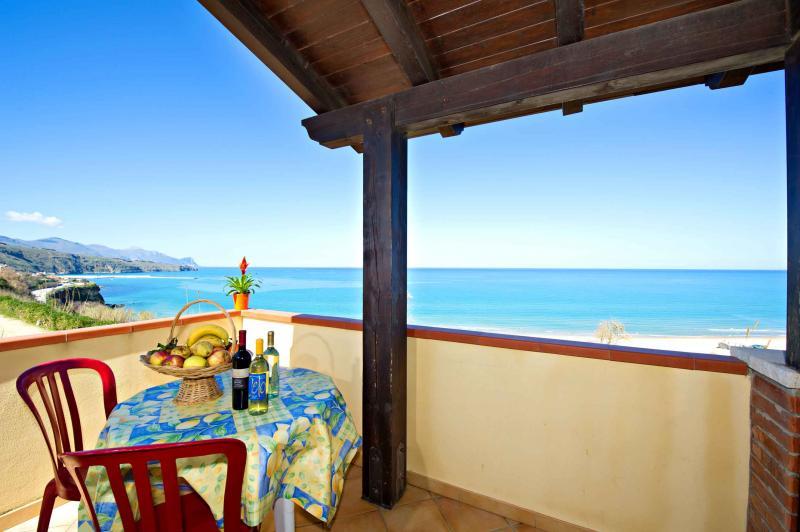 Vue du balcon Location Maison 67481 Castellammare del Golfo