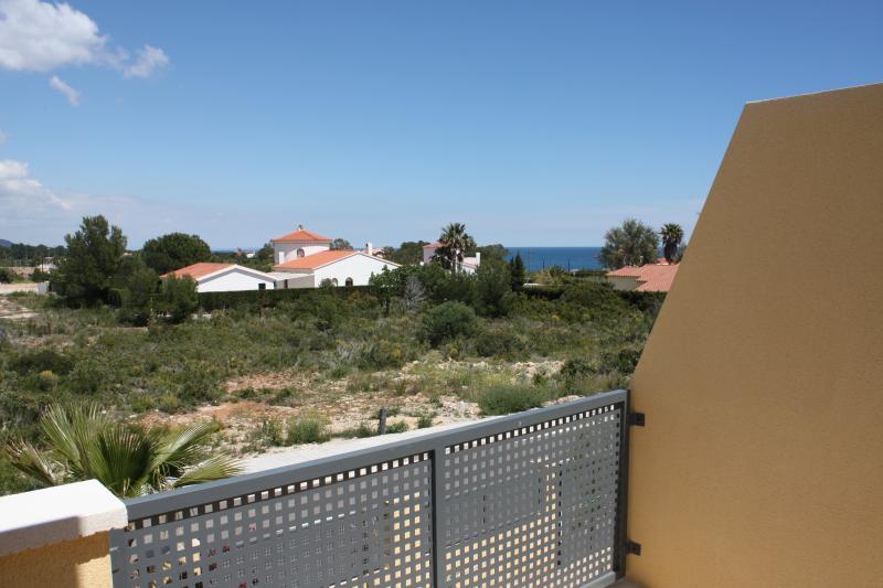 Vue du balcon Location Chalet 77819 La Ametlla de Mar
