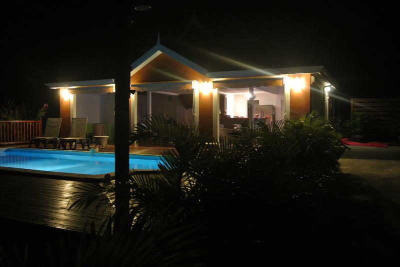 Vue extérieure de la location Location Villa 81102 Saint Francois
