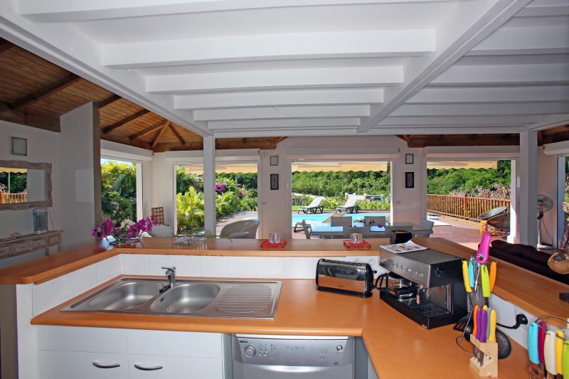 Vue depuis la location Location Villa 81102 Saint Francois