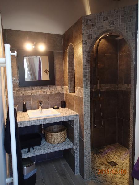 Salle d'eau 2 Location Gite 81749 Vaison la Romaine