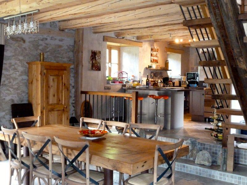 Salle à manger Location Gite 83058 La Mongie