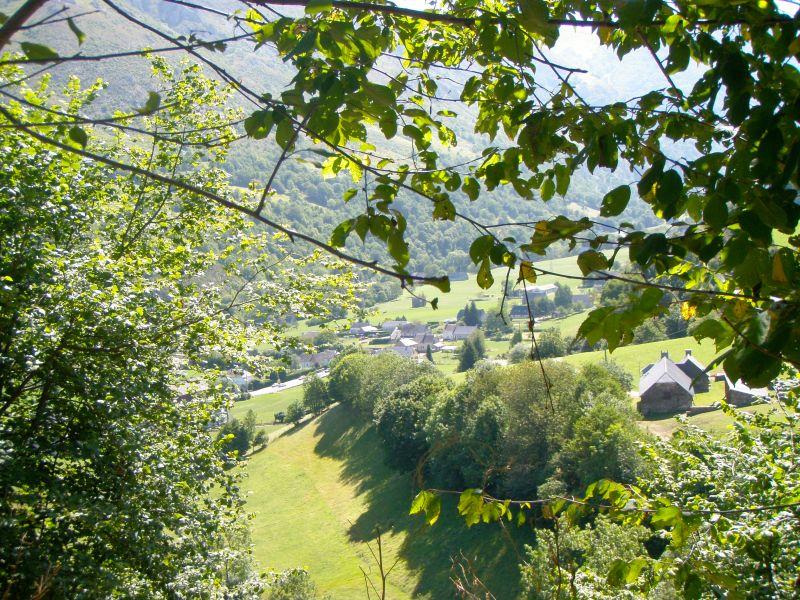 Vue de la terrasse Location Gite 83058 La Mongie
