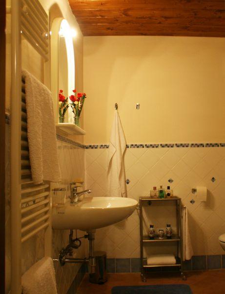 salle de bain Location Gite 84892 Sienne