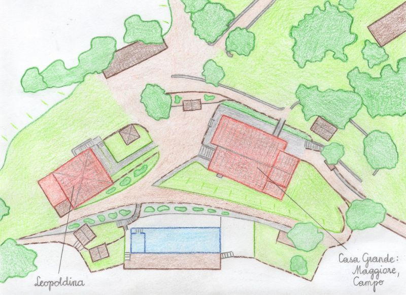 Plan de la location Location Gite 84892 Sienne