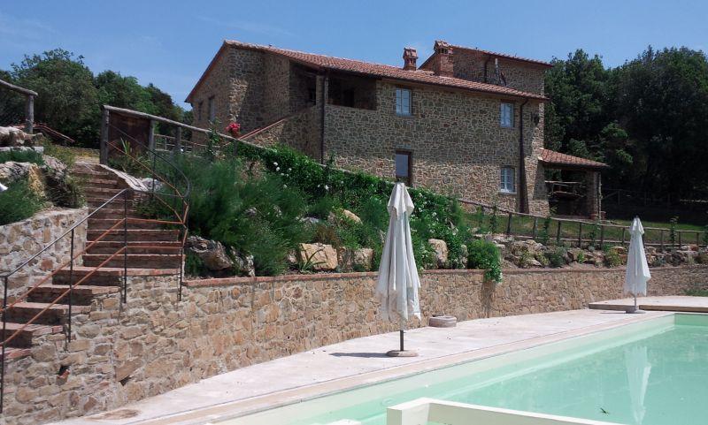 Vue extérieure de la location Location Gite 84892 Sienne