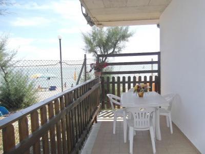 Vue de la terrasse Location Bungalow 85039 Porto San Giorgio