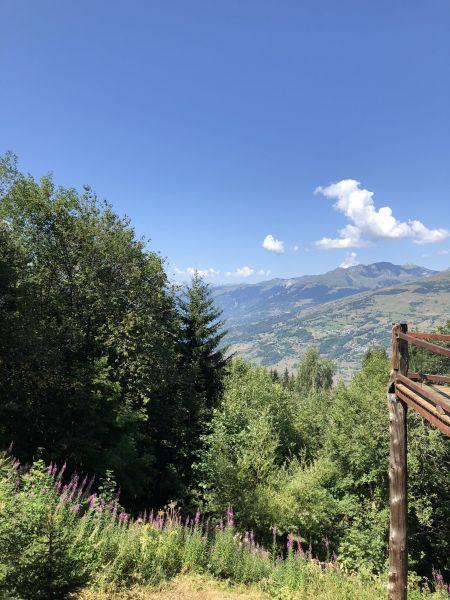 Vue de la terrasse Location Chalet 89274 Les Arcs