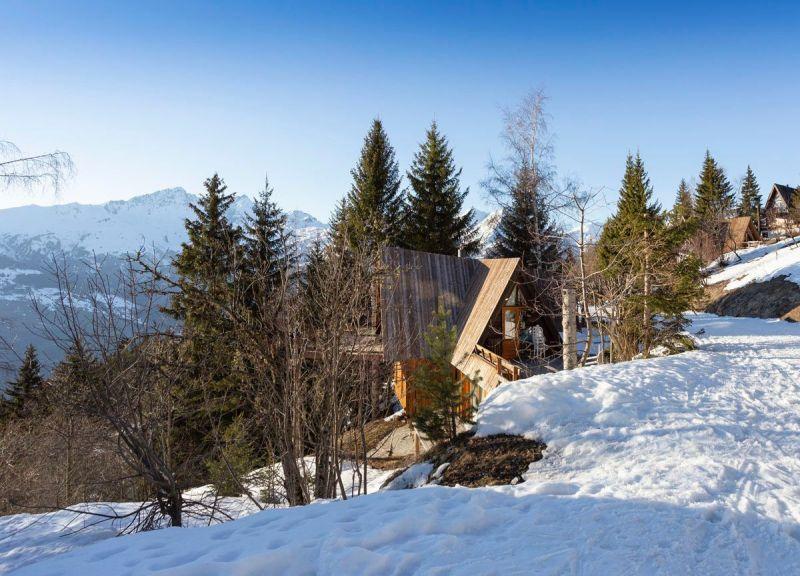 Vue extérieure de la location Location Chalet 89274 Les Arcs