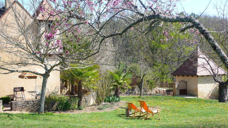 Vue de la terrasse Location Gite 91676 Sarlat