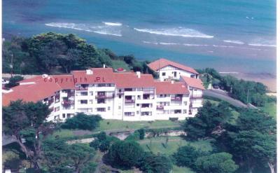 Vue ext�rieure de la location Location Appartement 96607 Biarritz