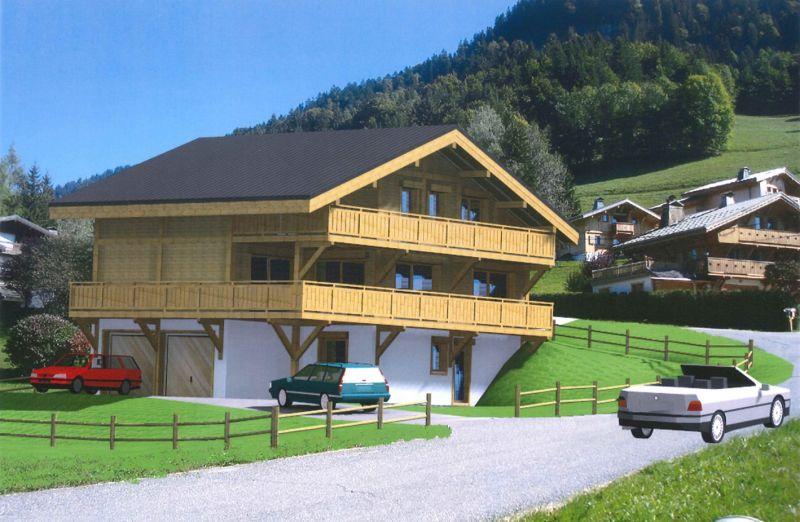 Vue extérieure de la location Location Chalet 99490 Megève