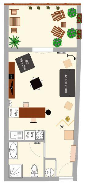 Plan de la location Location Gite 101478 Vidauban