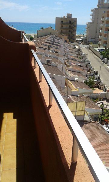 Vue de la terrasse Location Appartement 105376 Peñíscola