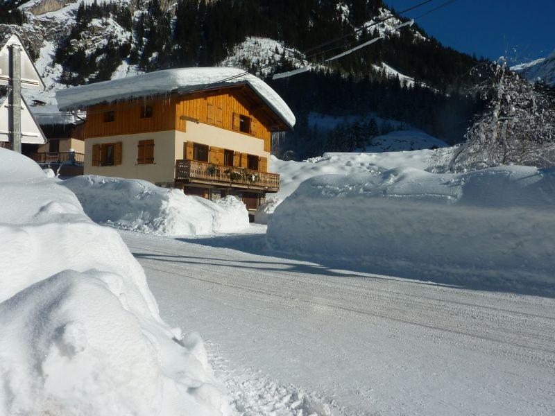 Vue extérieure de la location Location Chalet 106385 Pralognan la Vanoise