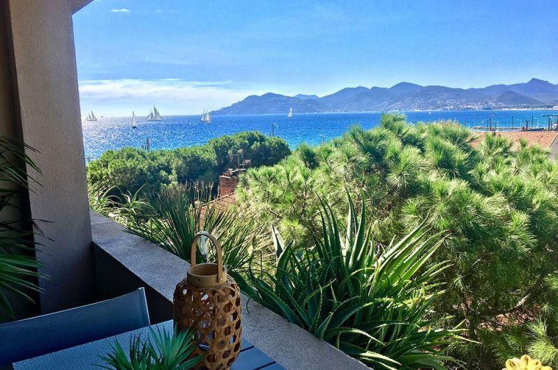 Vue depuis la location Location Appartement 107299 Cannes
