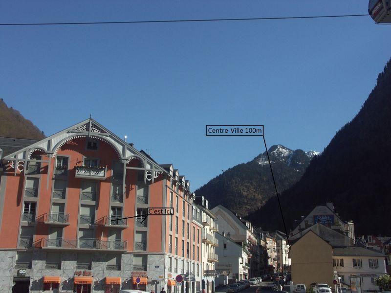 Vue extérieure de la location Location Appartement 107489 Cauterets