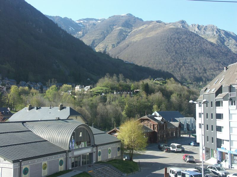 Vue du balcon Location Appartement 107489 Cauterets