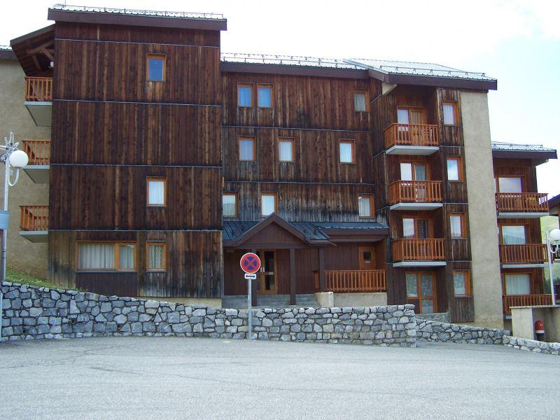 Vue extérieure de la location Location Studio 107514 La Plagne