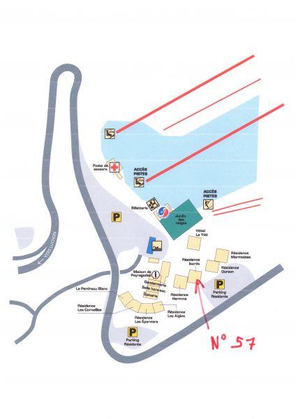 Carte Location Studio 112519 Peyragudes
