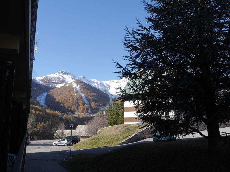 Vue depuis la location Location Studio 112686 Auron - Saint Etienne de Tinée