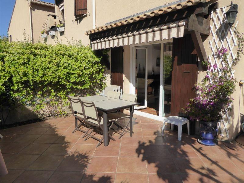 Vue de la terrasse Location Appartement 113223 Saint Cyr sur Mer