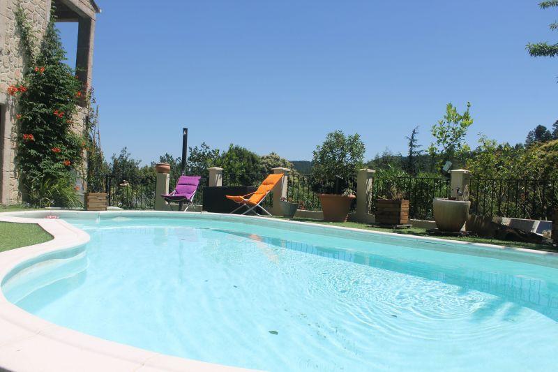 Piscine Location Gite 117149 Alès