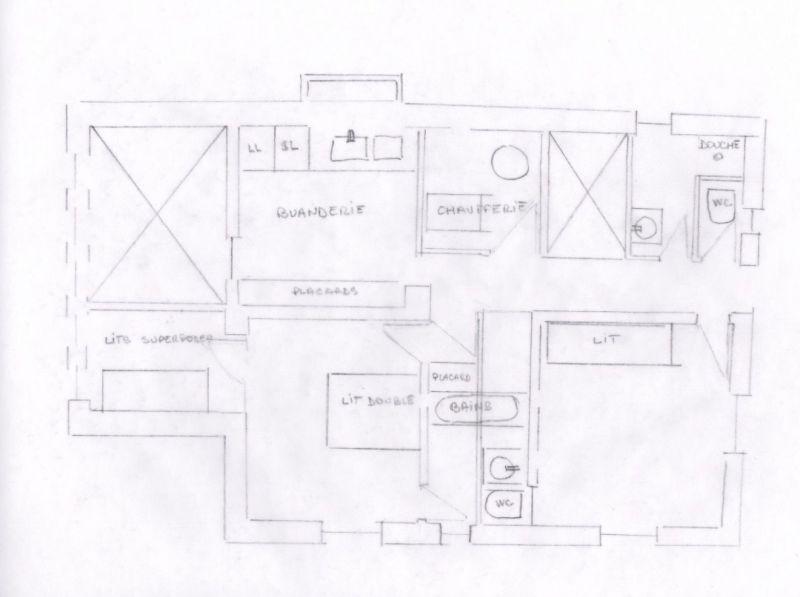 Plan de la location Location Chalet 117151 Megève