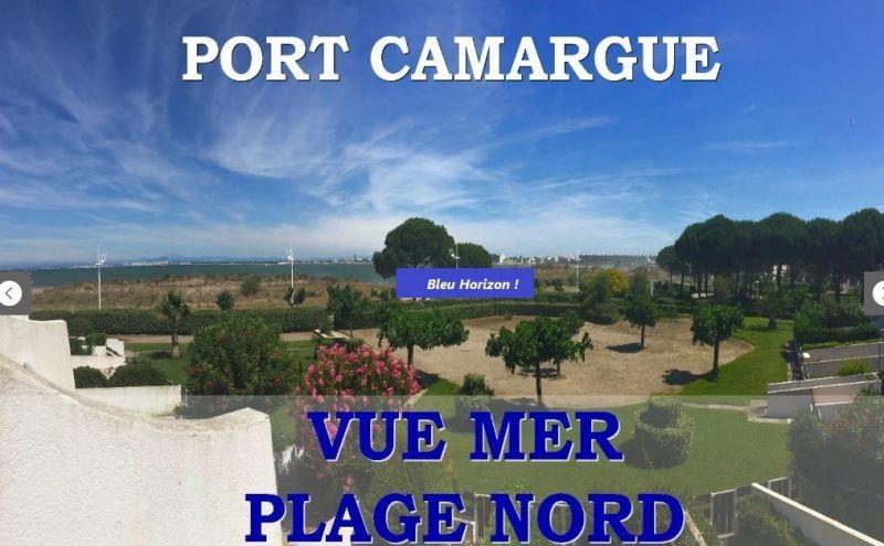 Vue du balcon Location Studio 117568 Port Camargue