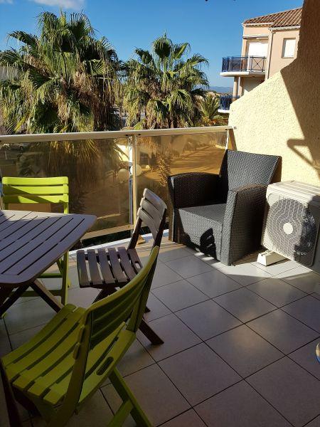 Vue du balcon Location Appartement 117607 Sainte Marie la Mer