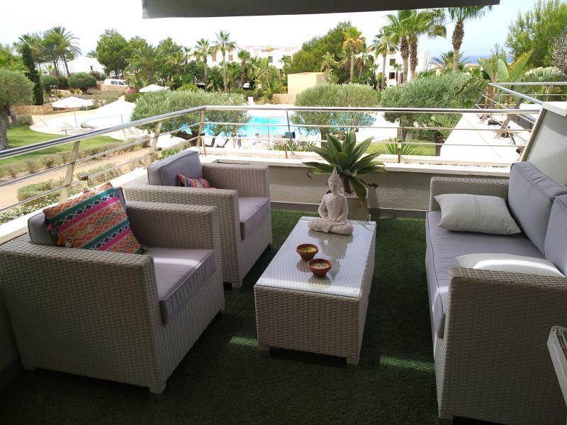 Terrasse Location Appartement 118637 Cala Tarida