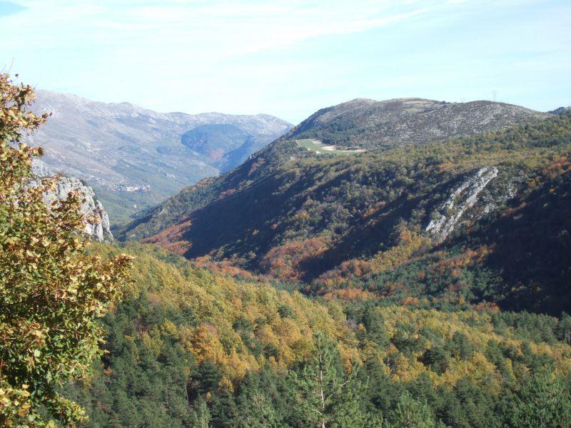 Vue extérieure de la location Location Gite 118775 Grasse
