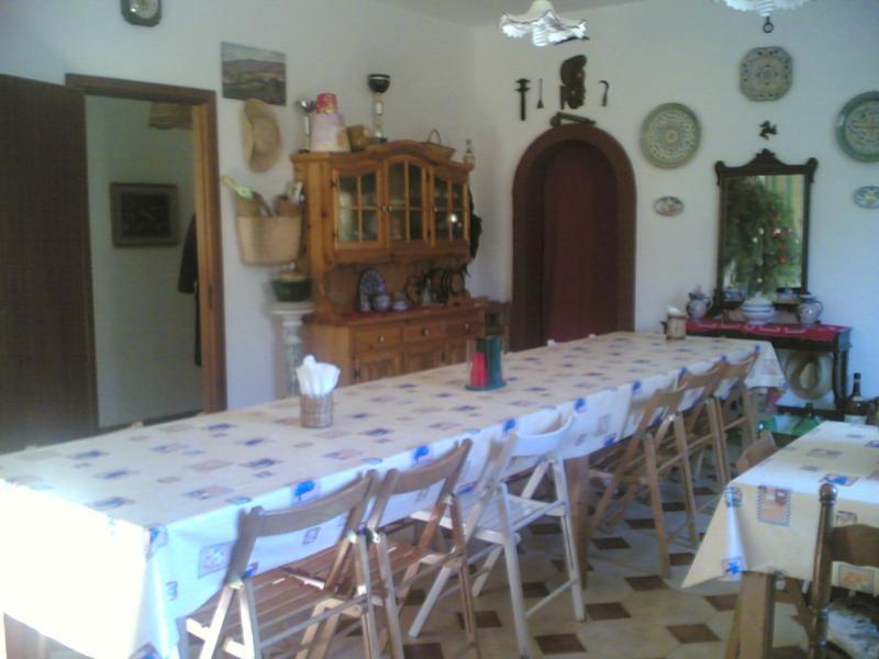 Salle � manger Location Villa 63583 Castellammare del Golfo