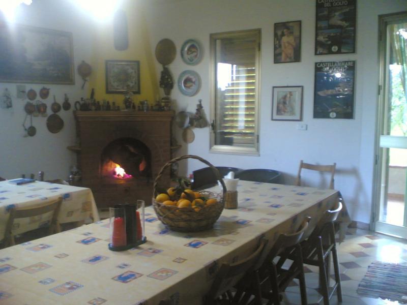 Salle à manger Location Villa 63583 Castellammare del Golfo