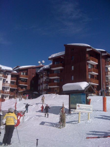 Vue extérieure de la location Location Appartement 66941 La Plagne