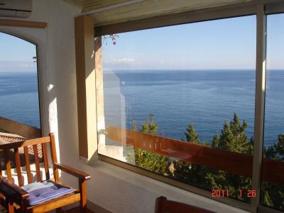Vue depuis la location Location Villa 73306 Ste Lucie de Porto Vecchio