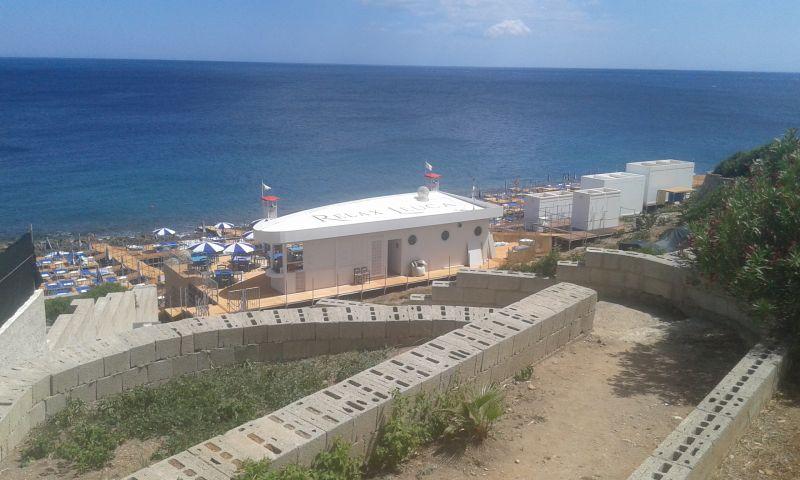 Vue de la terrasse Location Appartement 78965 Santa Maria di Leuca