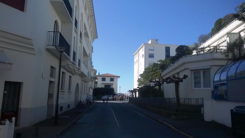 Vue extérieure de la location Location Studio 79238 Saint Jean de Luz