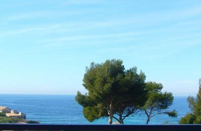 Vue de la terrasse Location Appartement 79595 Sanary
