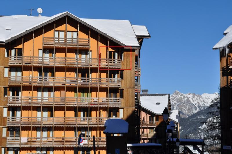 Vue extérieure de la location Location Appartement 82549 Risoul 1850