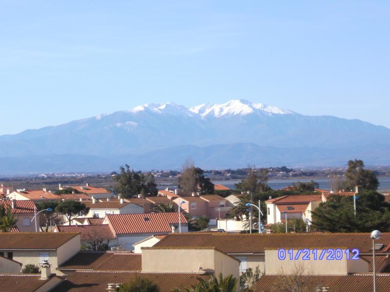 Vue depuis la location Location Appartement 82556 Canet-en-Roussillon