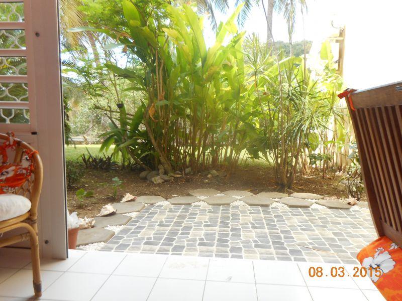 Vue de la terrasse Location Appartement 86341 Gosier (Guadeloupe)