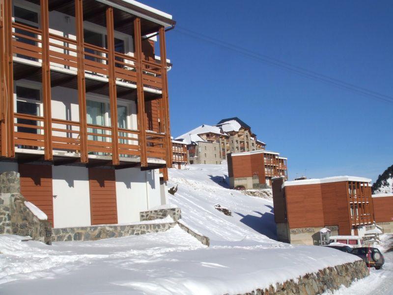 Vue extérieure de la location Location Appartement 90809 La Mongie