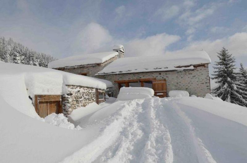 Vue extérieure de la location Location Chalet 91664 Aussois