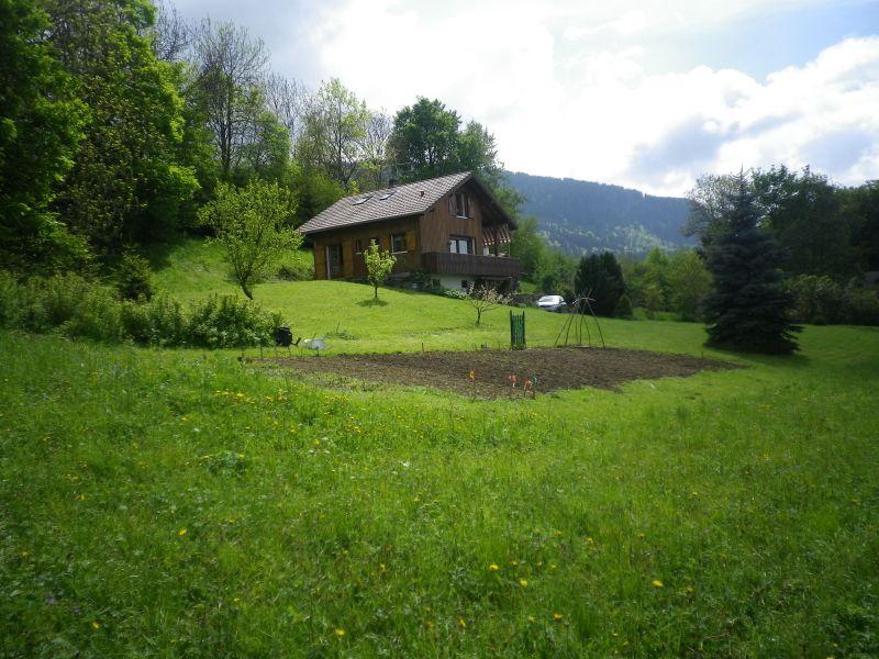 Vue à proximité Location Chalet 92047 Mont Saxonnex