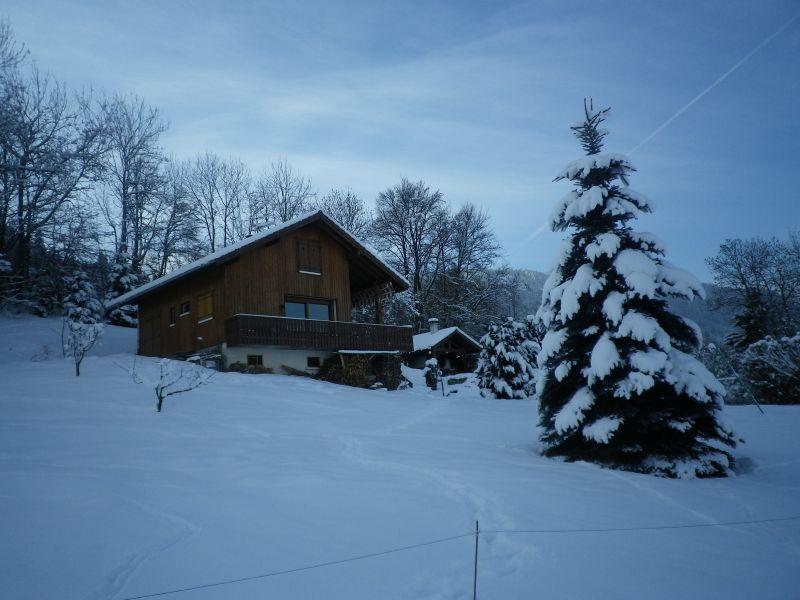 Vue extérieure de la location Location Chalet 92047 Mont Saxonnex