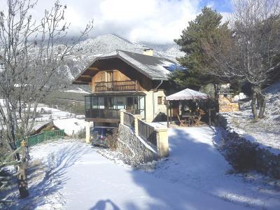 Vue ext�rieure de la location Location Chalet 96750 Barcelonnette