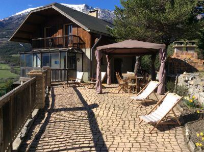 Terrasse Location Chalet 96750 Barcelonnette