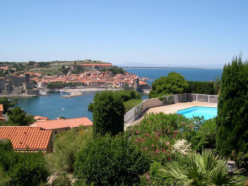 Vue depuis la location Location Appartement 98460 Collioure
